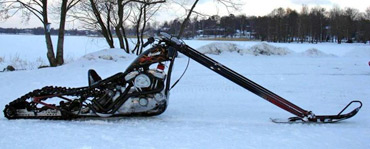 Sn 248 Chopper En Beltemotorsykkel