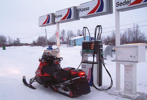 kjøre snøscooter uten lappen i sverige